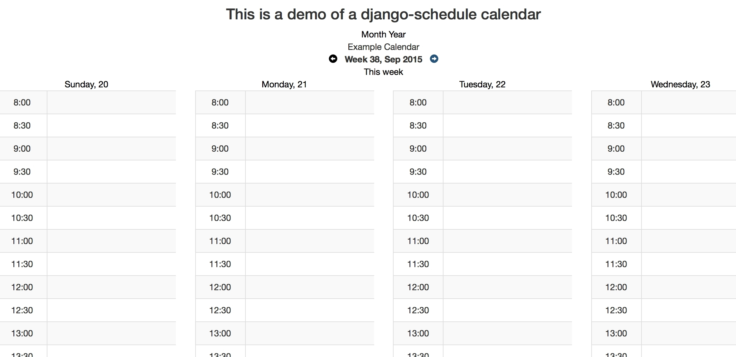Good Print Calendar In Python : Mini Calendar Template