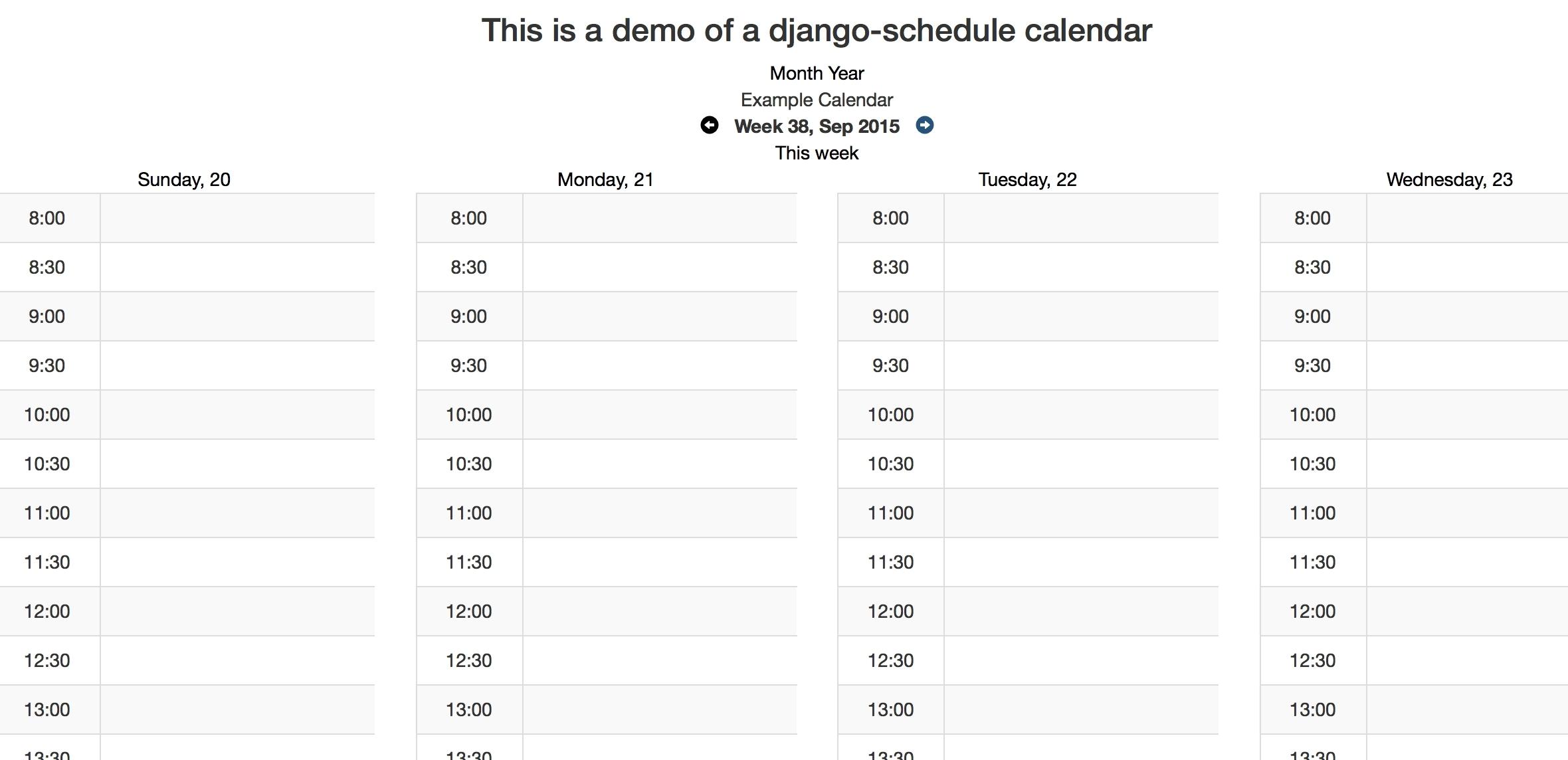Good Print Calendar In Python : Mini Calendar Template