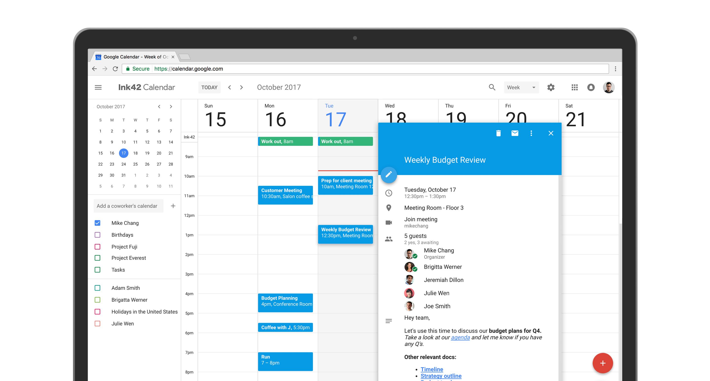 Google Calendar On The Web Gets A Fresh New Look – The