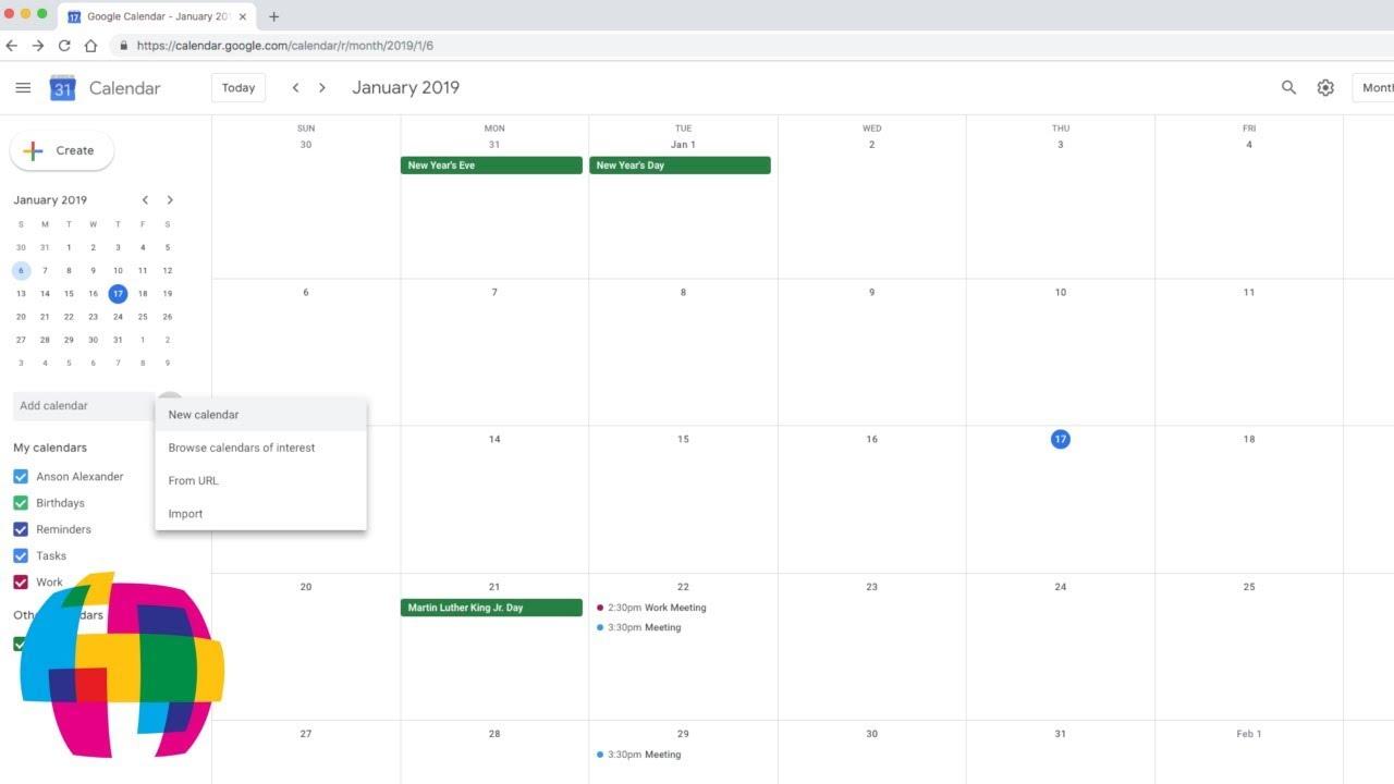 Google Calendar Tutorial 2019 - Quick Start Training