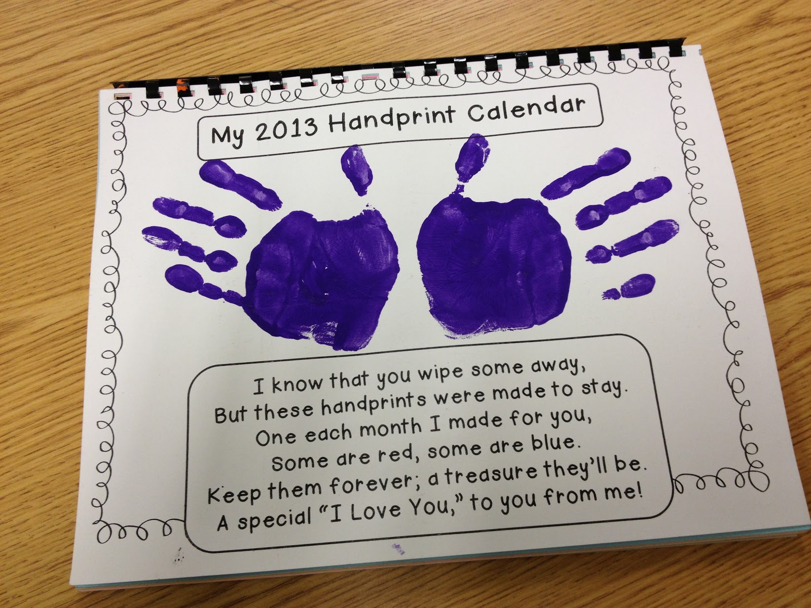 Handprint Poems