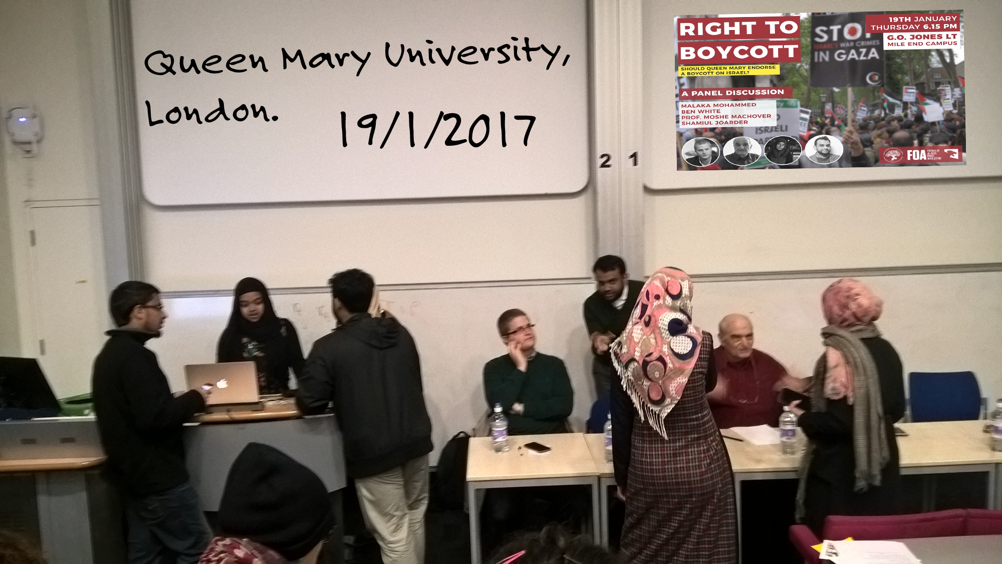 Helpless Before The Hatred At Queen Mary University Of