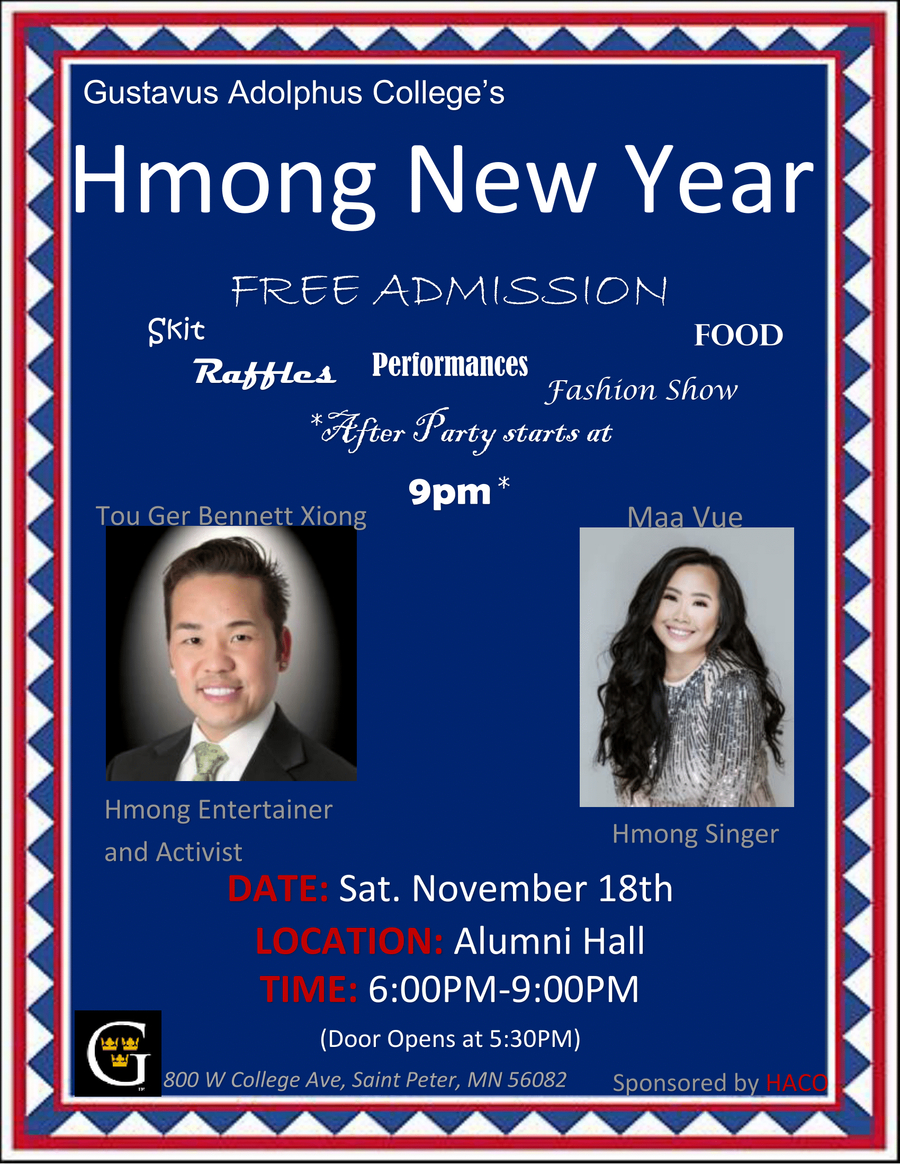Hmong New Year - November 18, 2017 At 6–9 P.m. | Calendar
