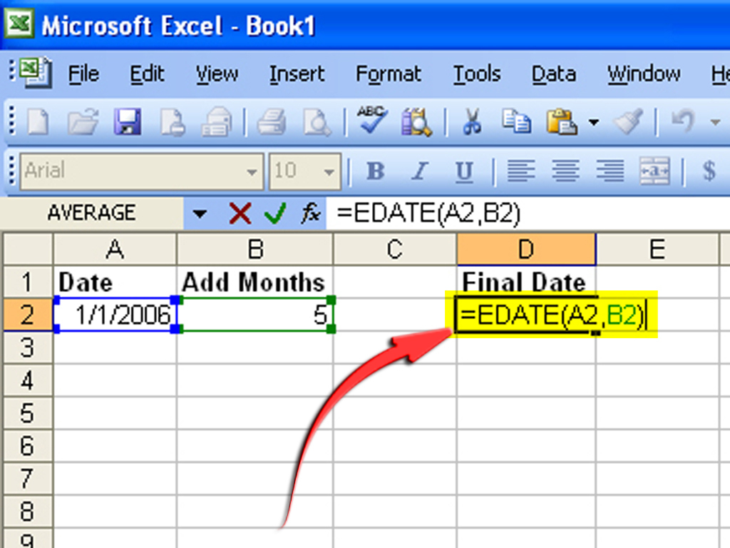 How To Create A Formula To Increase A Date1 Month: 6 Steps
