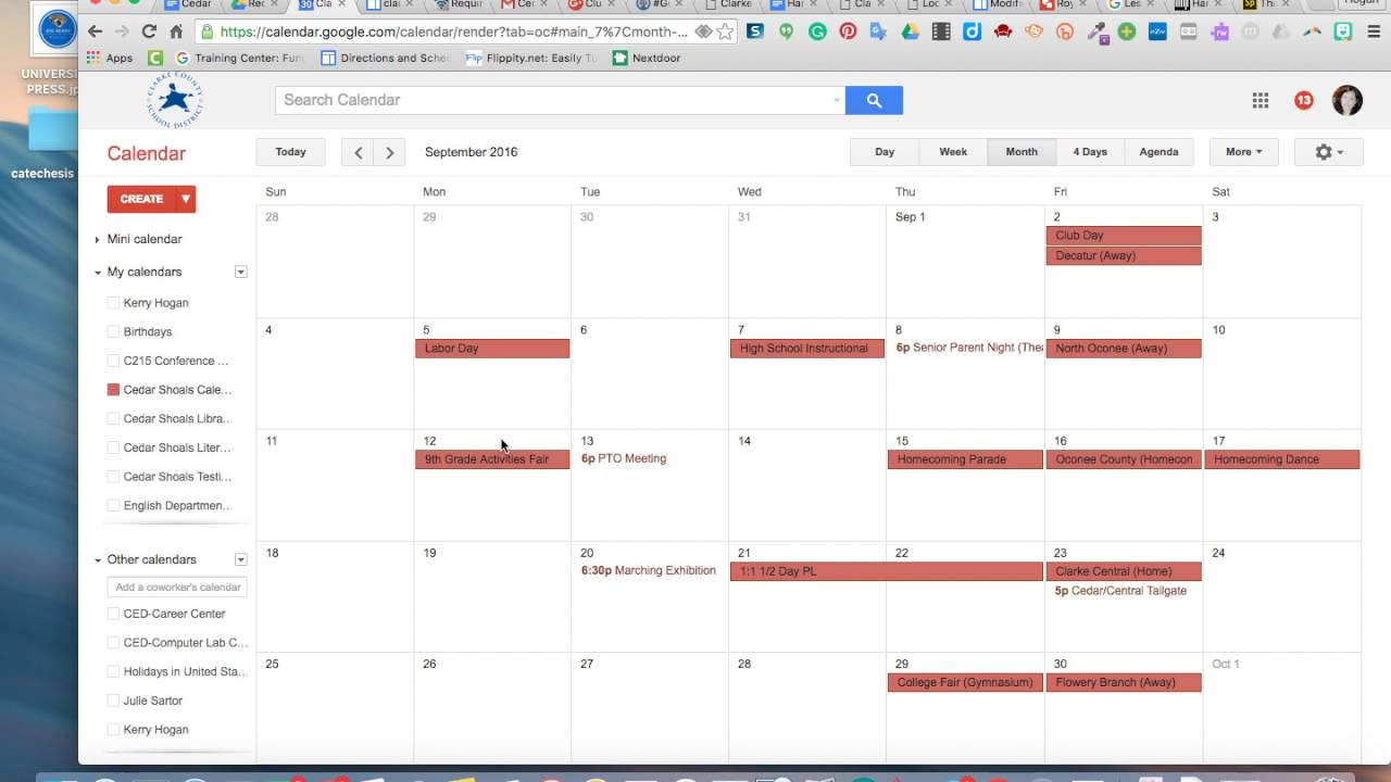 How To Print A Calendar In Google