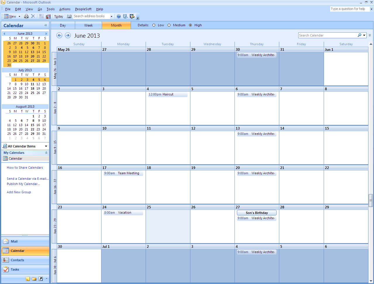 How To Print Calendar In Outlook | Appointment Calendar On