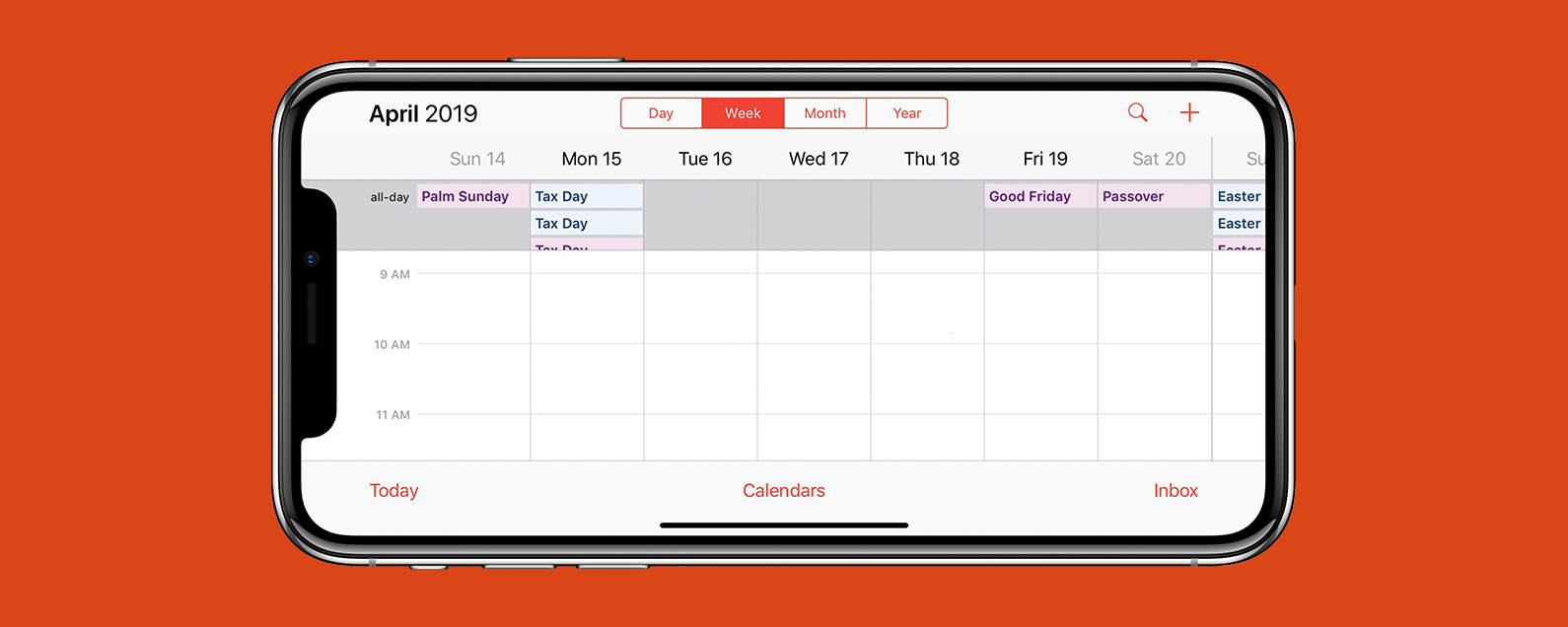 How To See The Week View In The Calendar App On Your Iphone