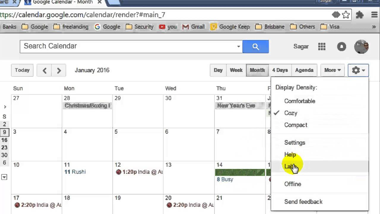 How To Show Year View In Google Calendar