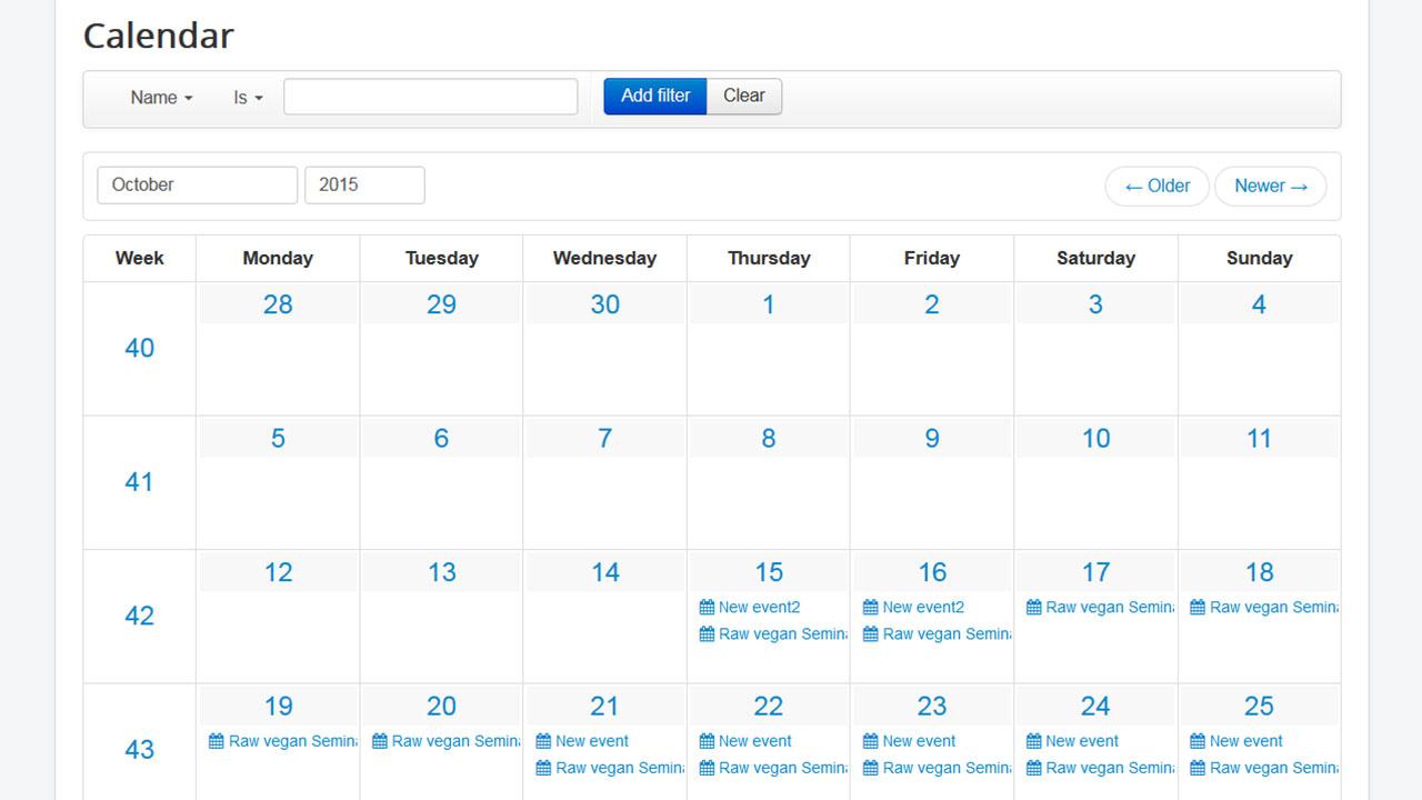 Html Calendar Code Download - Wpa.wpart.co