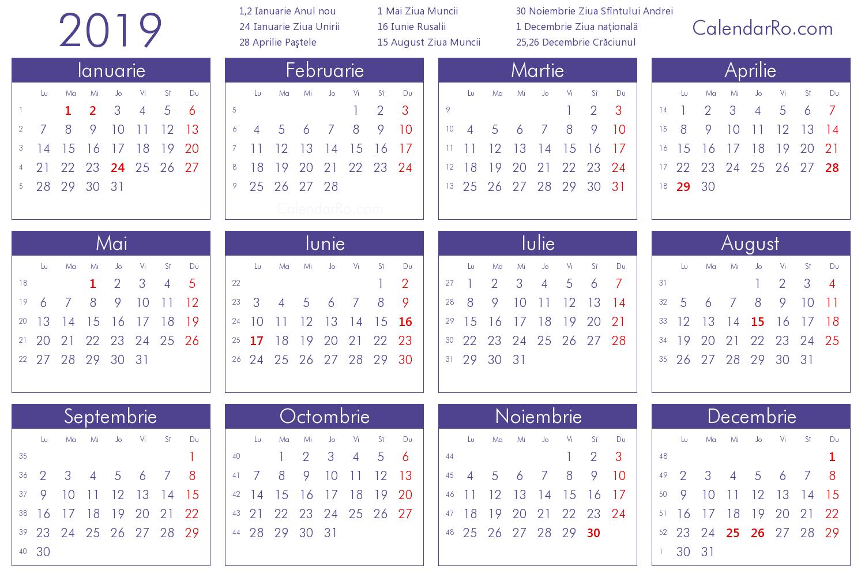Imagini Pentru Calendar 2019 Romanesc In 2019 | Calendar