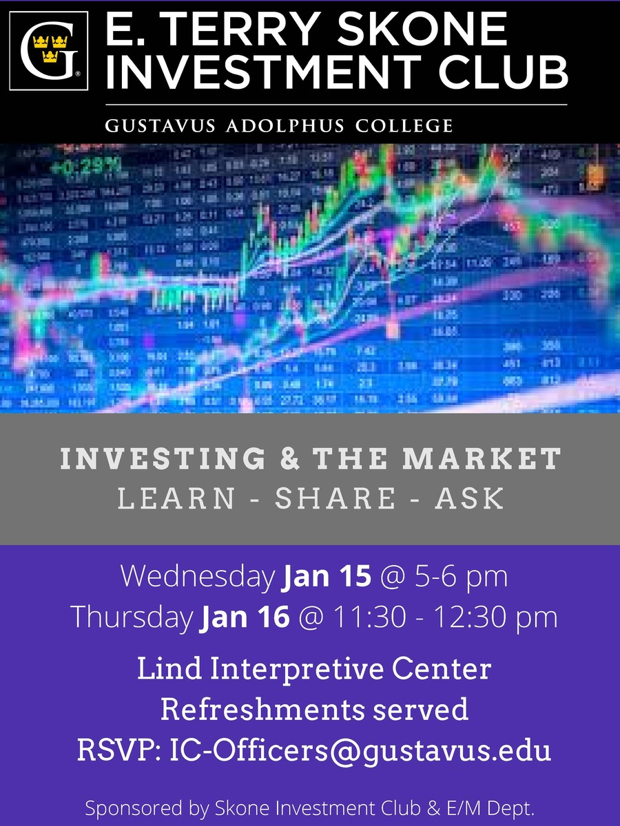 Investing And The Market-- Informal Workshops From Skone