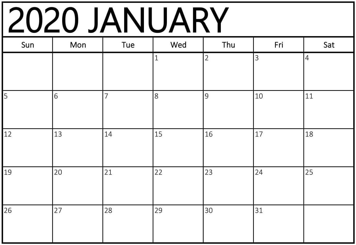 January 2020 Calendar New Zealand - Wpa.wpart.co