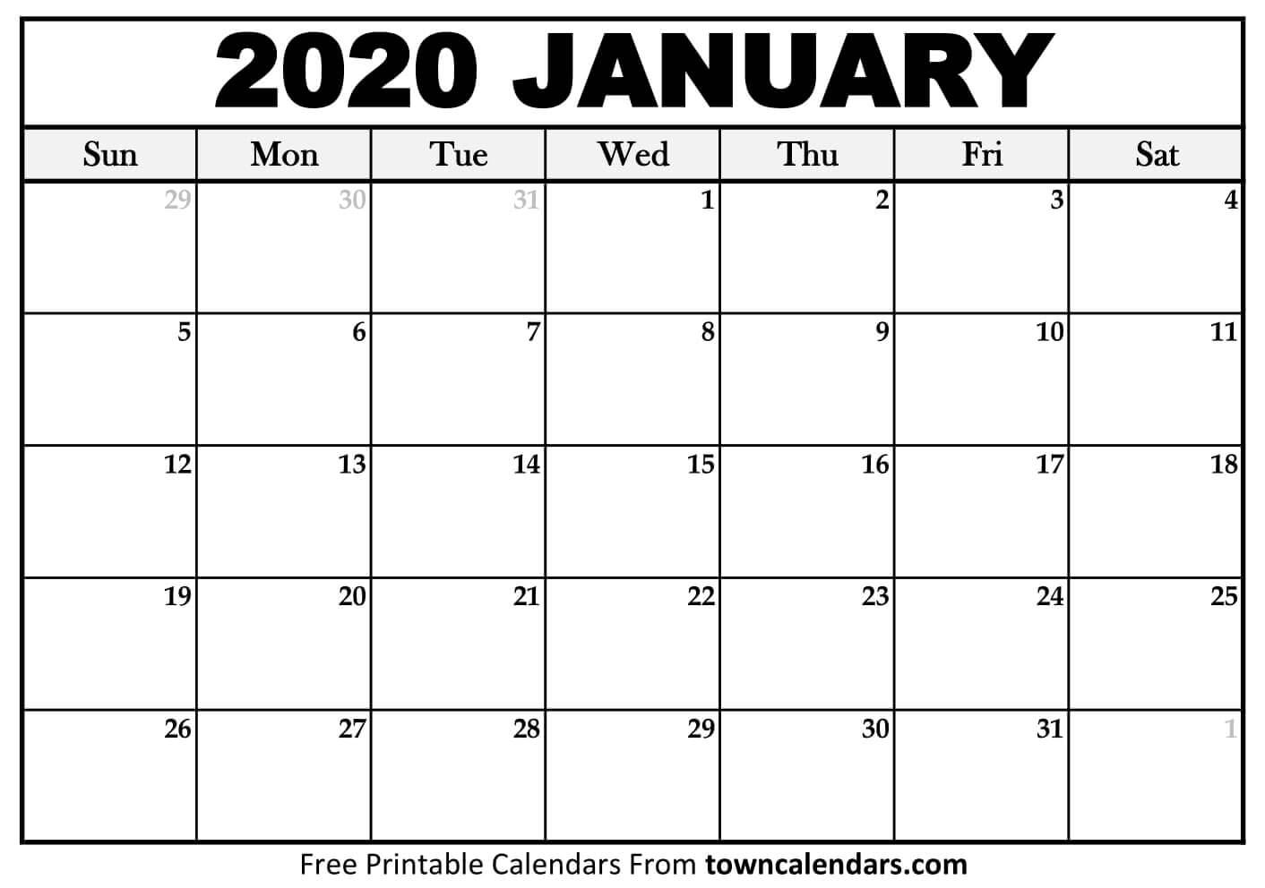 January Calendar - Wpa.wpart.co