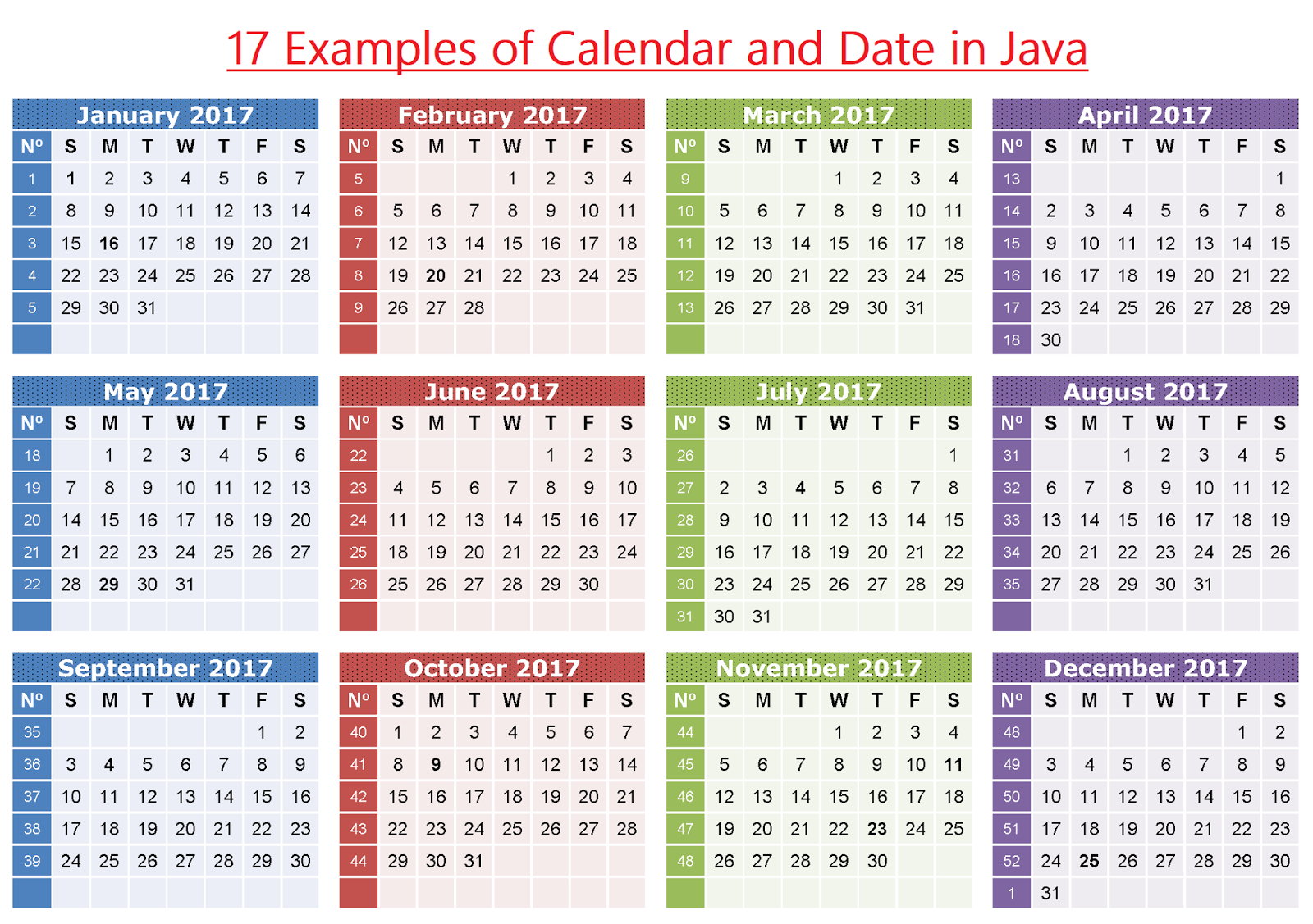 Javarevisited: 17 Examples Of Calendar And Date In Java
