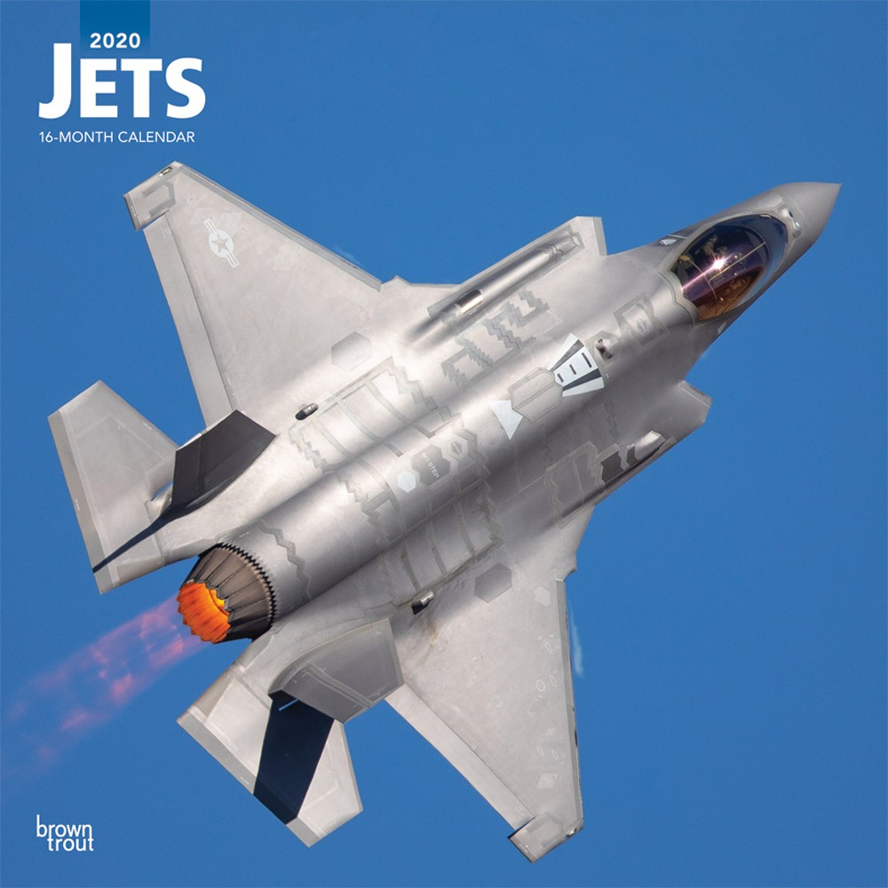 Jets 2020 12 X 12 Inch Monthly Square Wall Calendar
