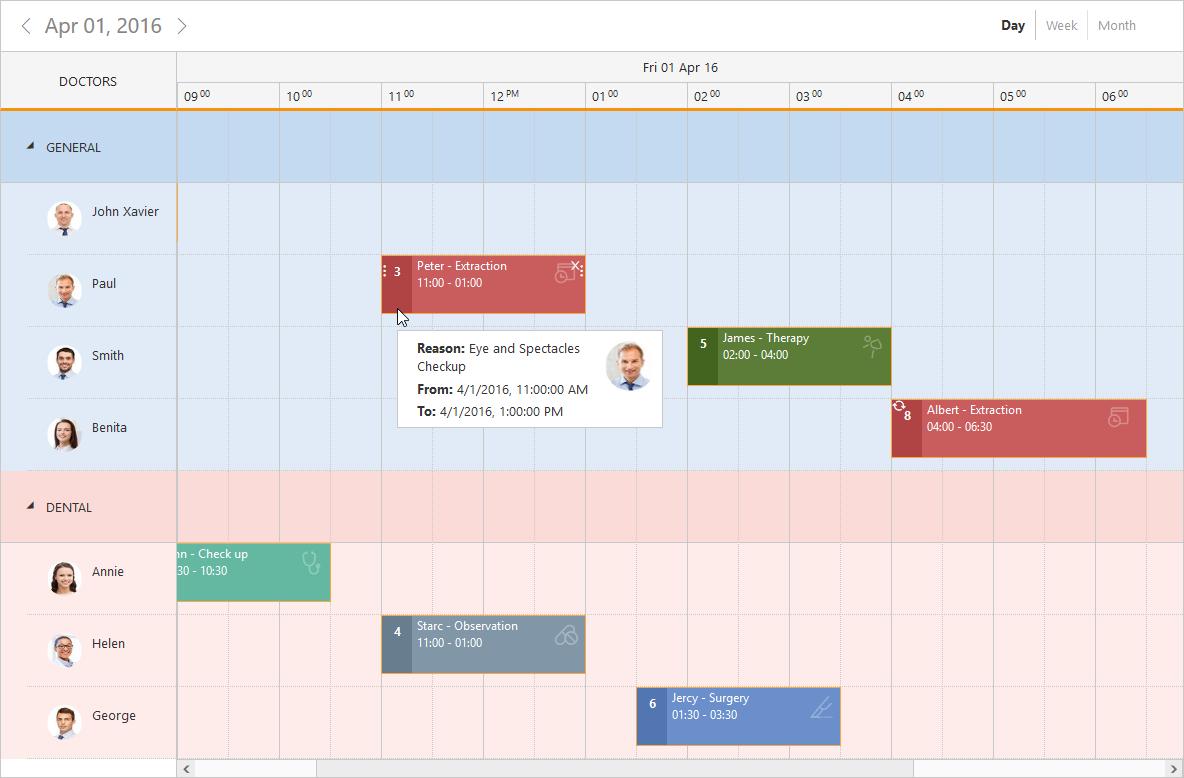 Jquery Scheduler Control | Event Calendar | Syncfusion