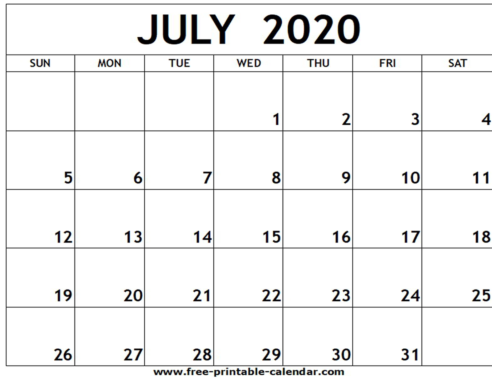 July 2020 June 2020 Calendar - Wpa.wpart.co