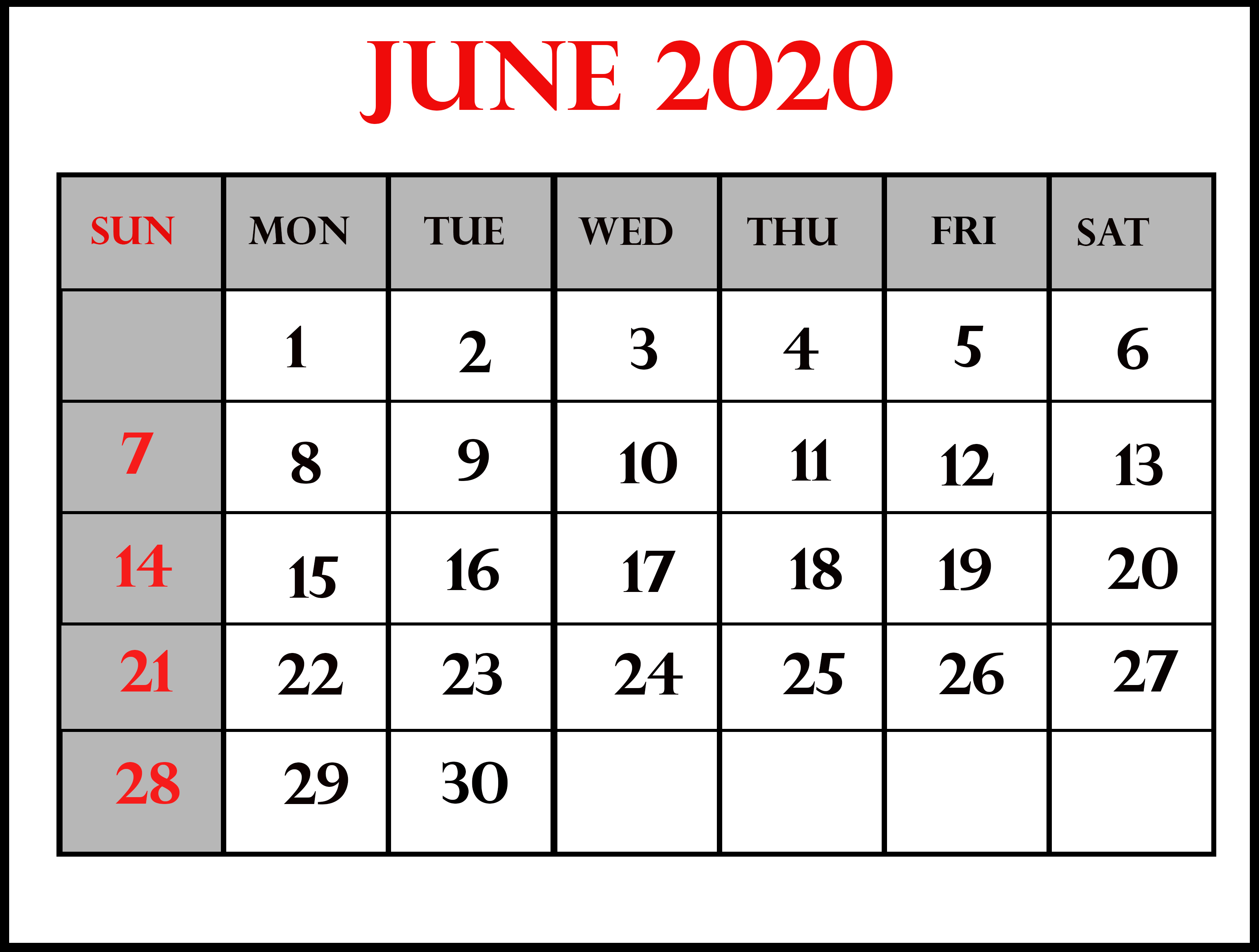 June-4-2020 | Best Letter Template