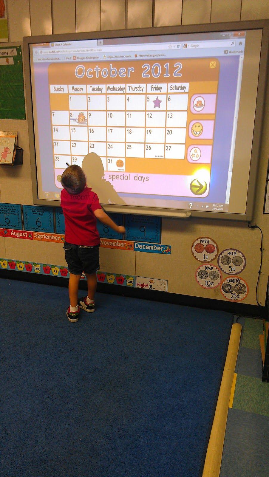 Kindergarten Schmindergarten: Starfall Calendar | Preschool