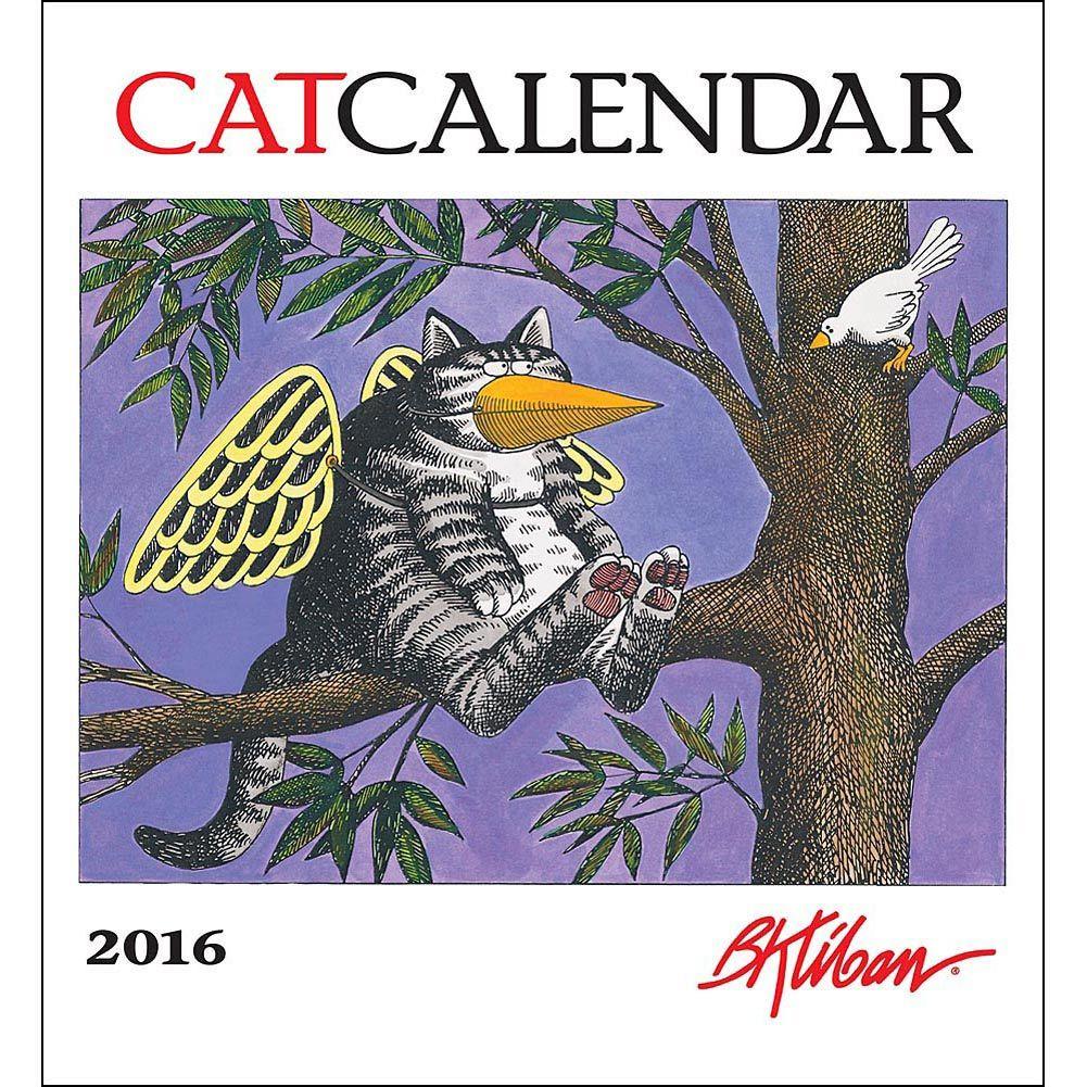 Kliban Cat Special Edition 2020 Wall Calendar | Календари И