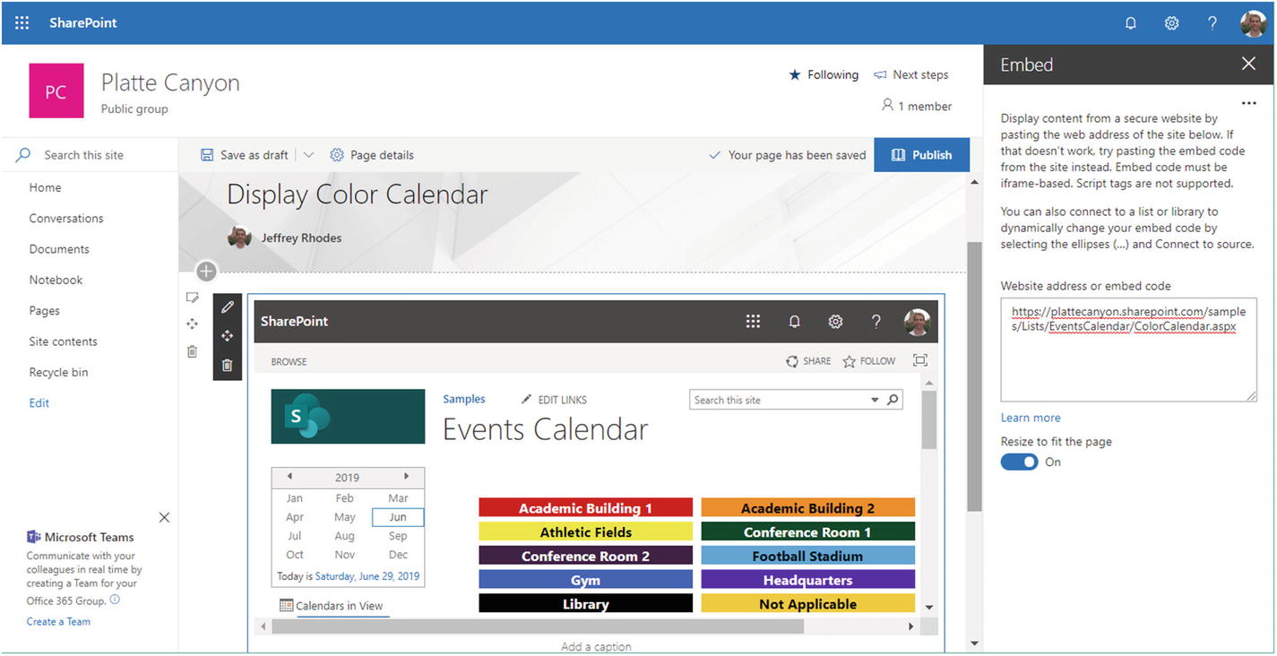 Leveraging An Iframe To Display Another Sharepoint Page