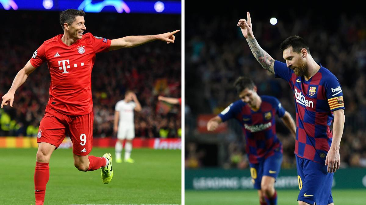 Lewandowski Tops Messi As Race On For 2019 Top Scorer - As