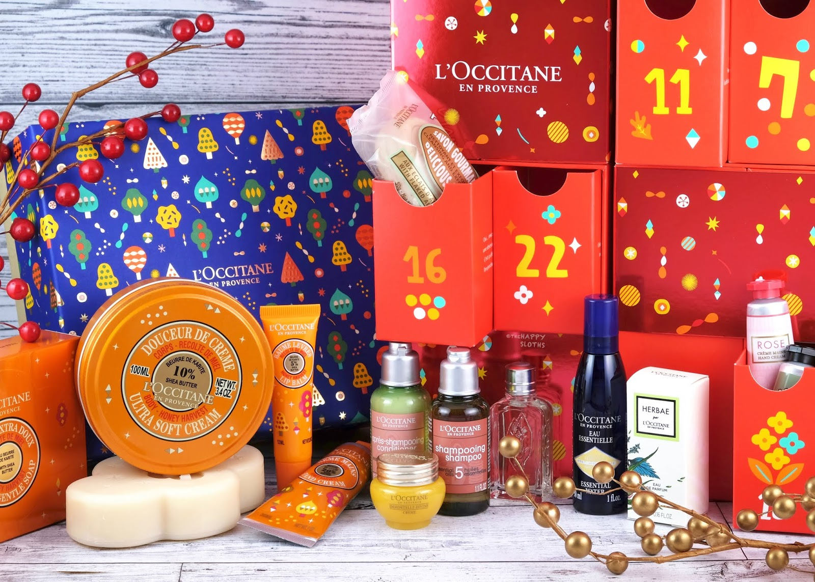 L'occitane | Holiday 2019 Shea Honey Harvest Collection