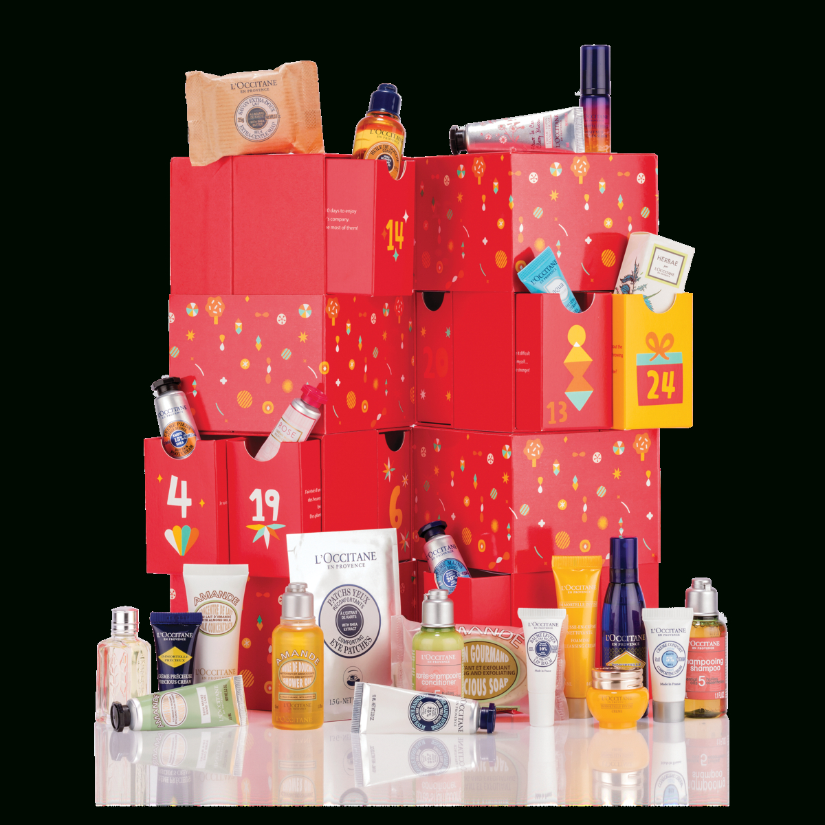 Luxury Advent Calendar | 24 Days Of Gifting | L'occitane