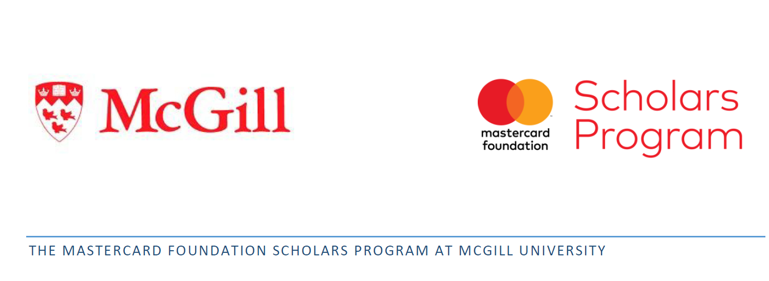 Mastercard Foundation Scholars Program 2020 At Mcgill