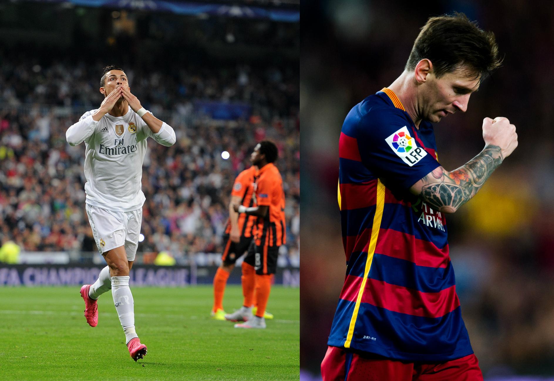 Messi Vs. Ronaldo 2015-16 - Week 4: 3 Goals For Ronaldo, 2