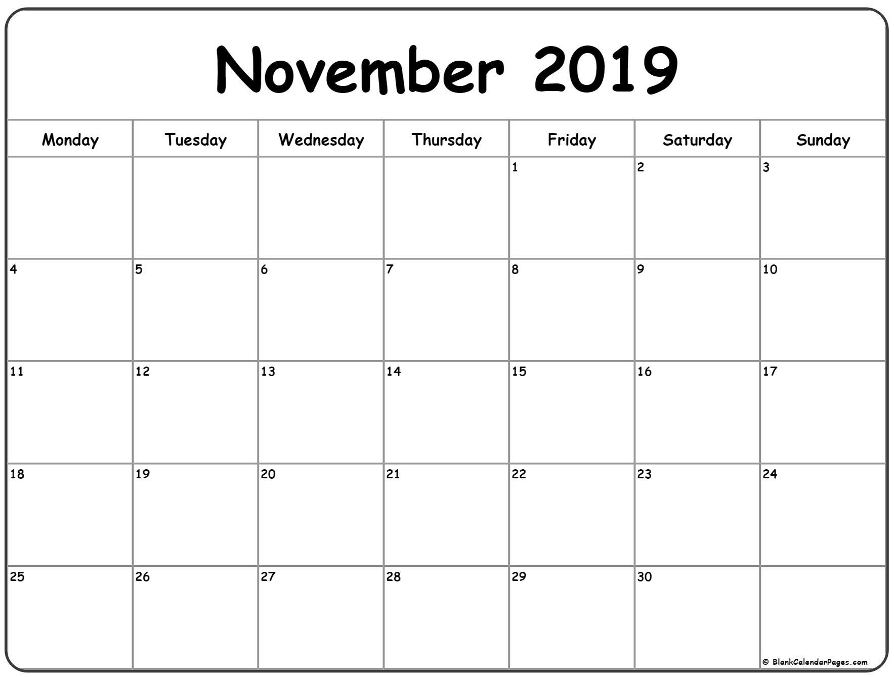 Monday Start Calendar - Wpa.wpart.co