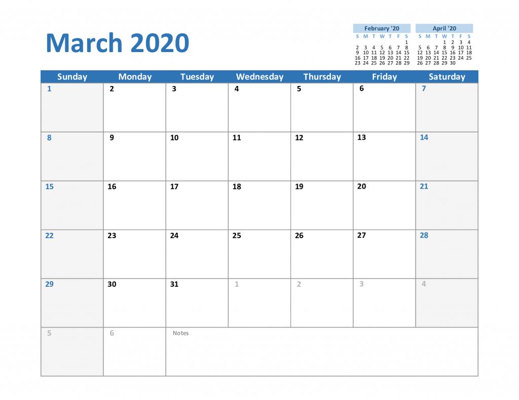 National Day Calendar March 2020 - Themediocremama