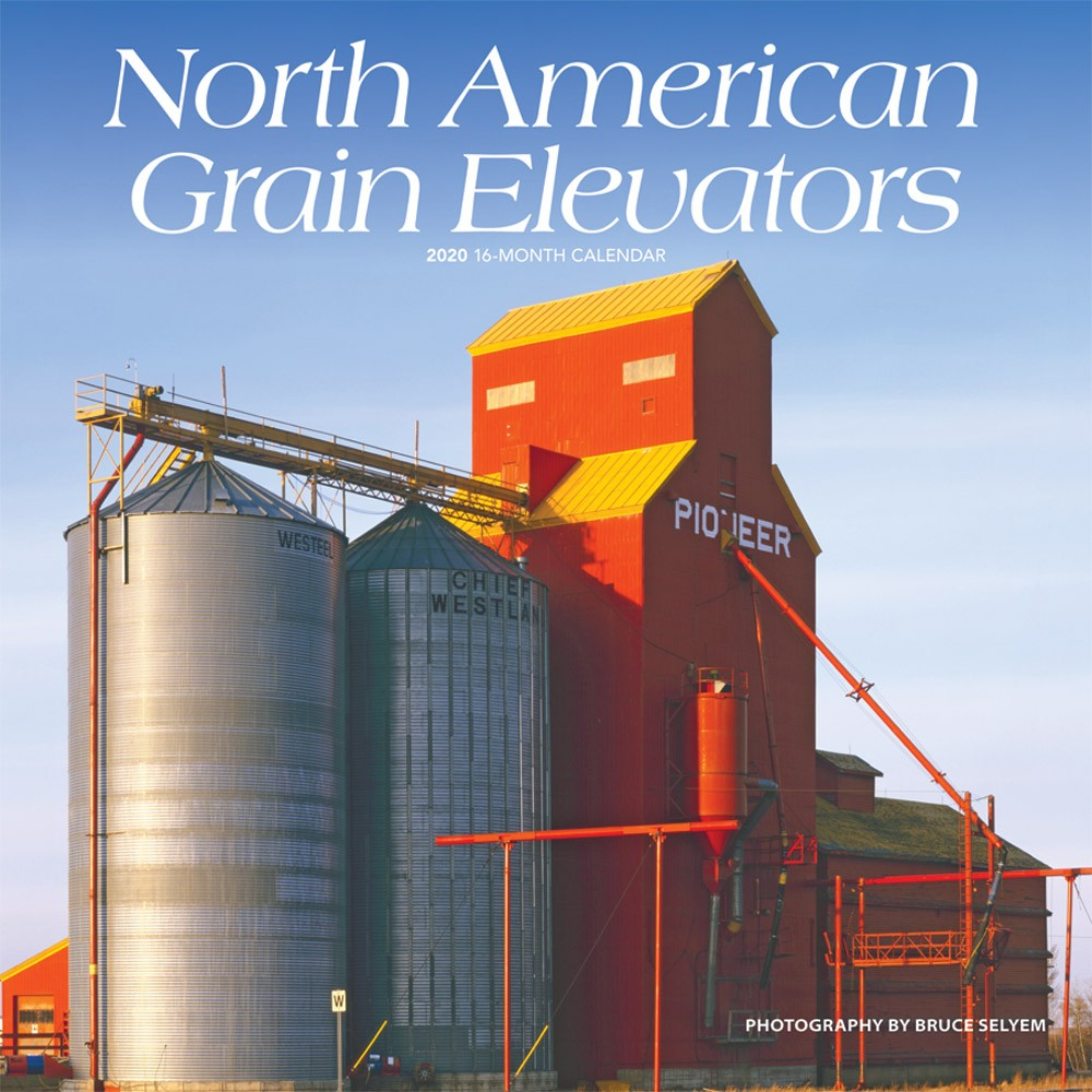 North American Grain Elevators 2020 12 X 12 Inch Monthly