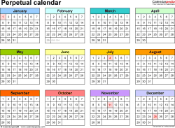 One Page Yearly Calendar - Wpa.wpart.co