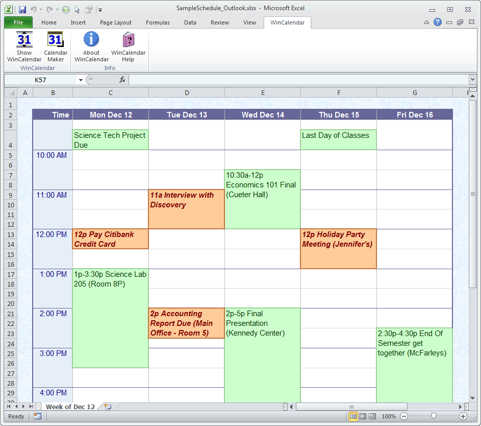Online Calendar Creator - Wpa.wpart.co