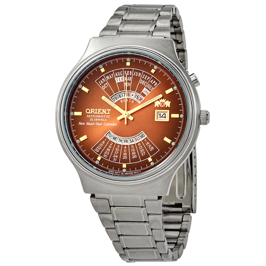 Orient Feu00002Pw Multi Year Calendar Mens Automatic Watch