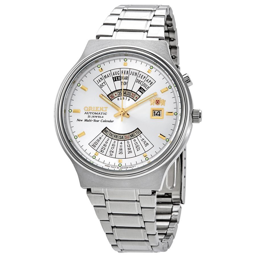 Orient Feu00002Ww Multi Year Calendar Mens Automatic Watch