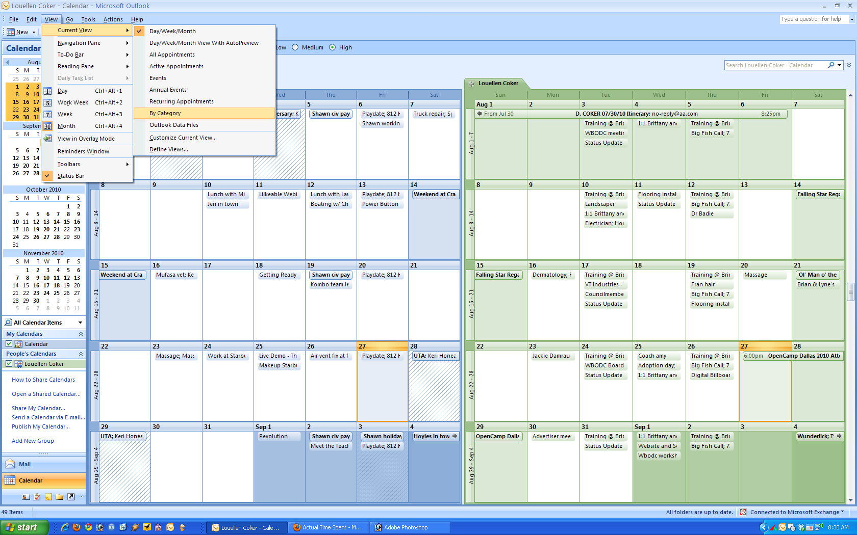 Outlook Calendar Templates - Wpa.wpart.co