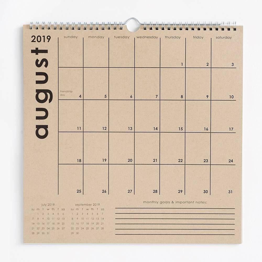 Paper Source Classic Grid 2020 Calendar | Paper Source In