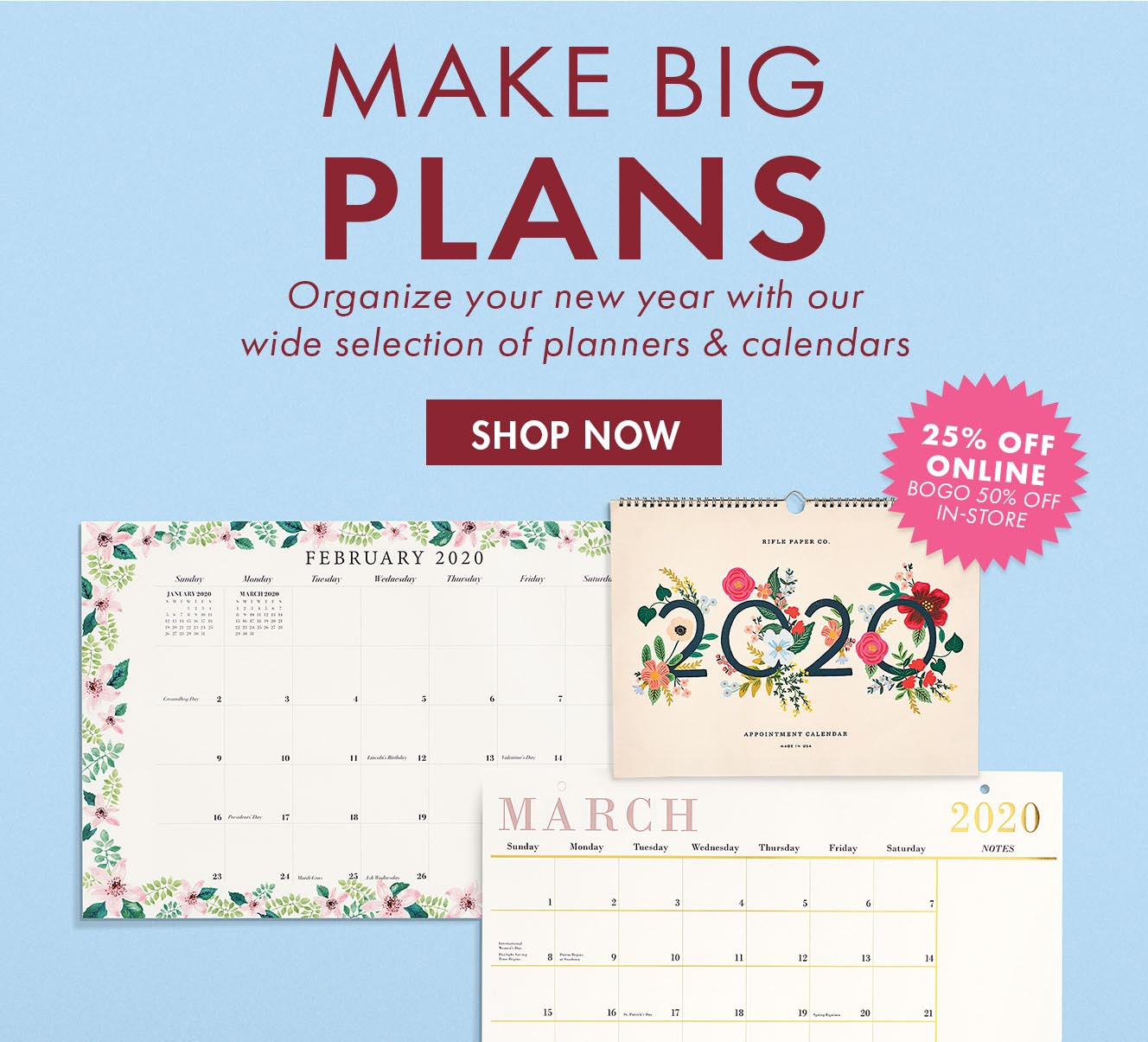 Paper Source: Get Resolution Ready For 2020! Planners Are 25