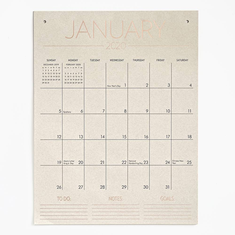 Paper Source Tall On The Wall 2020 Calendar | Products In