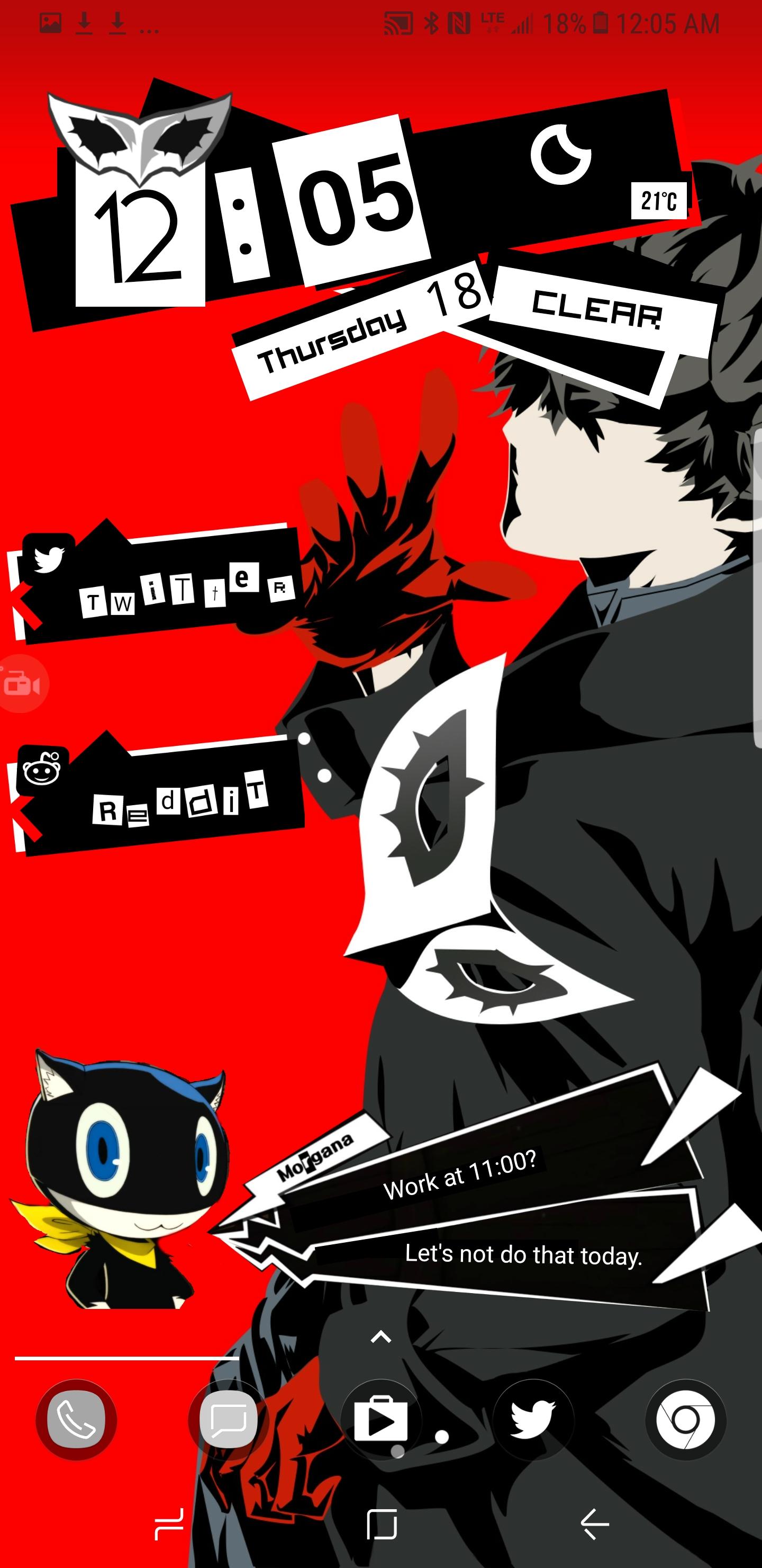 Persona 5 Weekly Calendar | Month Calendar Printable