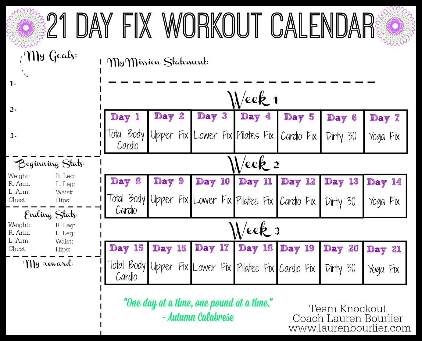 Pinleighann Cameron On Fitness | 21 Day Fix Workouts, 21