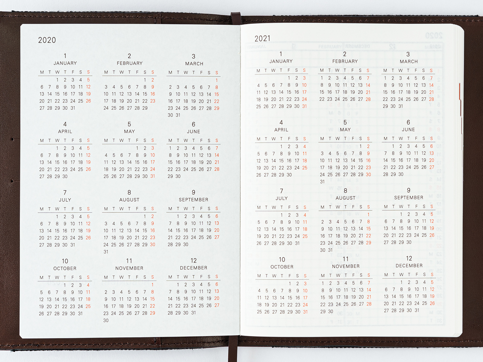 Planner / Yearly Calendar / Yearly Index - Book Buying Guide