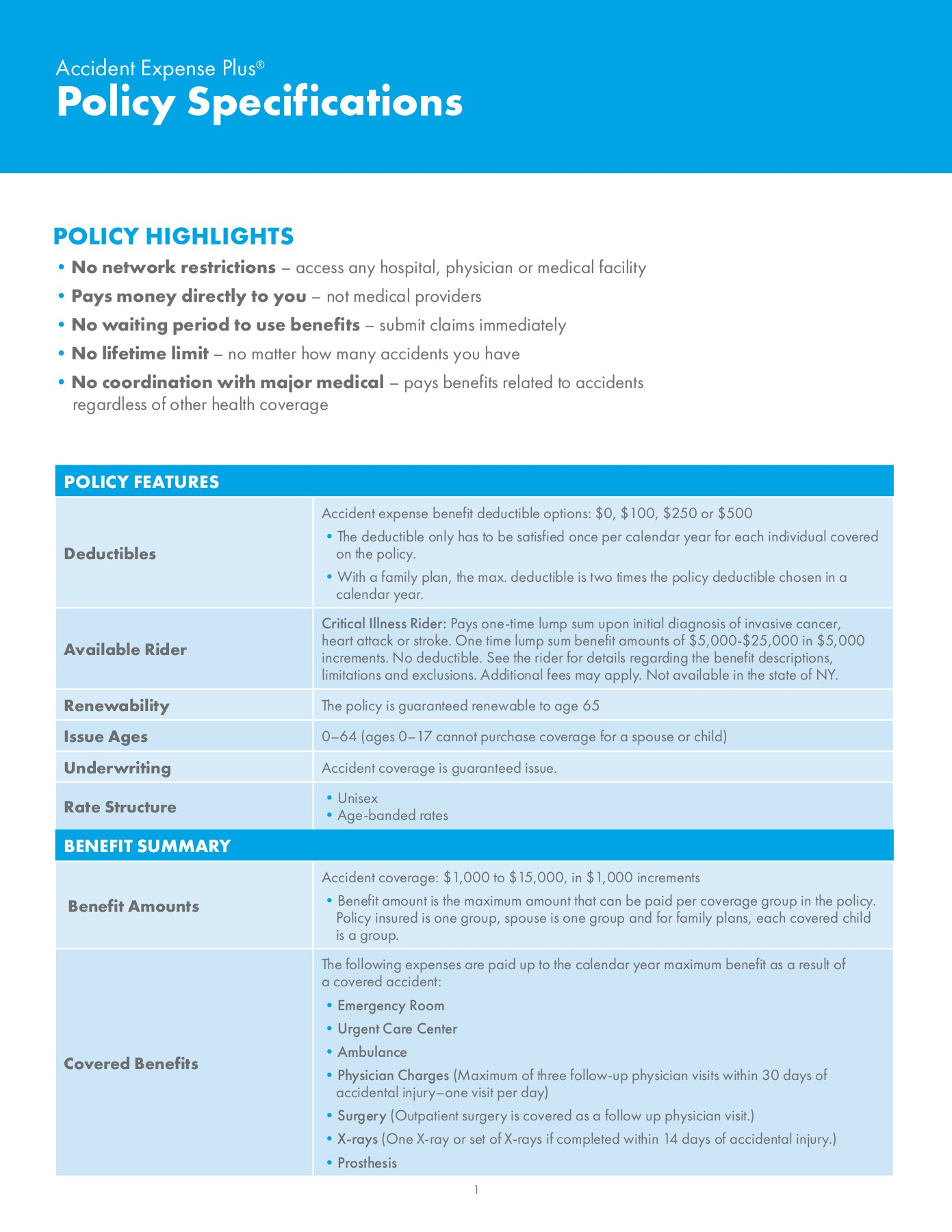 Policy Specifications - Aig Pages 1 - 3 - Text Version | Anyflip