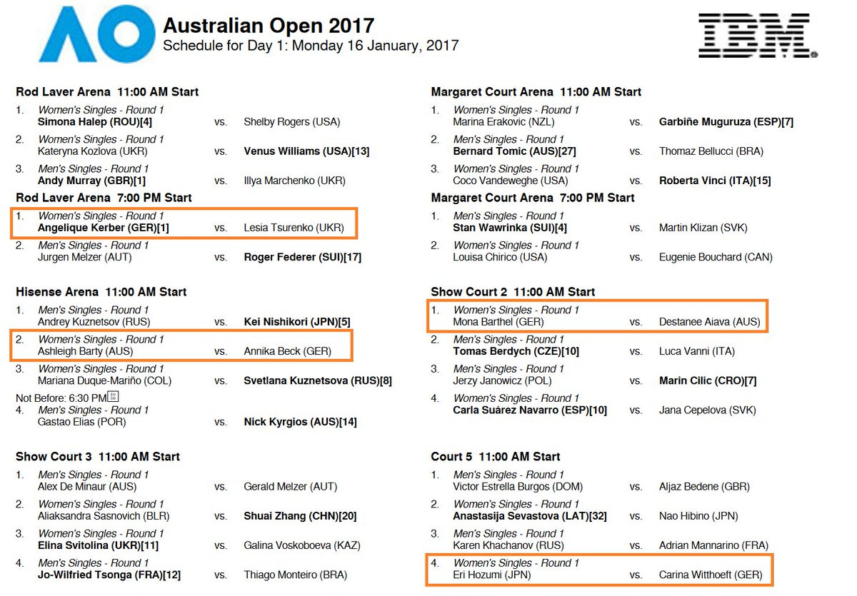 "Porsche Tennis On Twitter: ""calendar Check: #time For The"