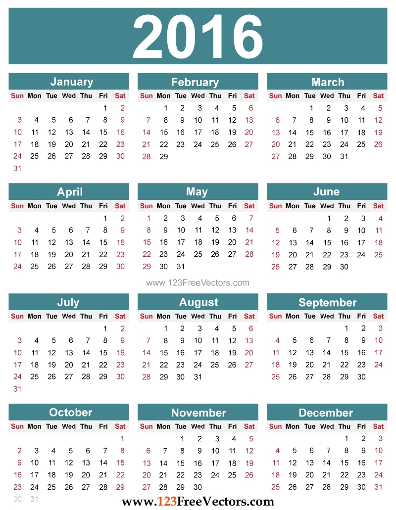 Posh Print Calendar In Java : Mini Calendar Template