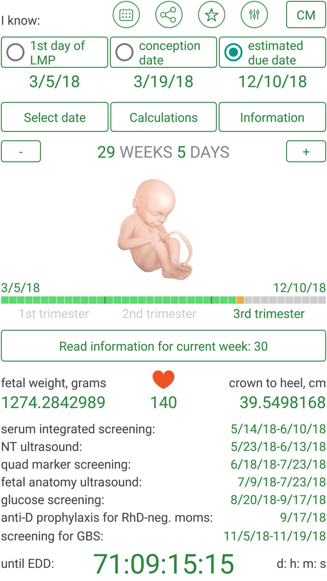 Pregnancy Due Date Calculator And Calendar For Android - Apk