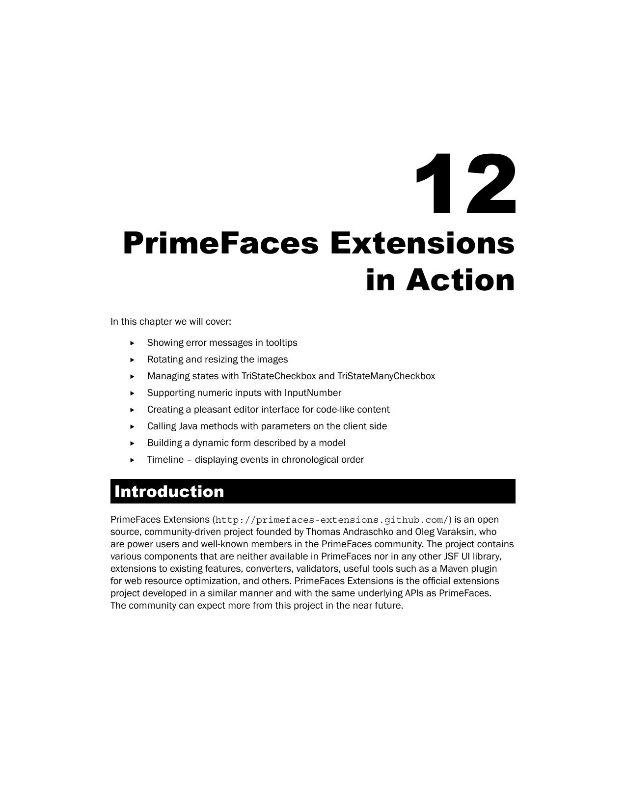 Primefaces Extensions In Action | Manualzz