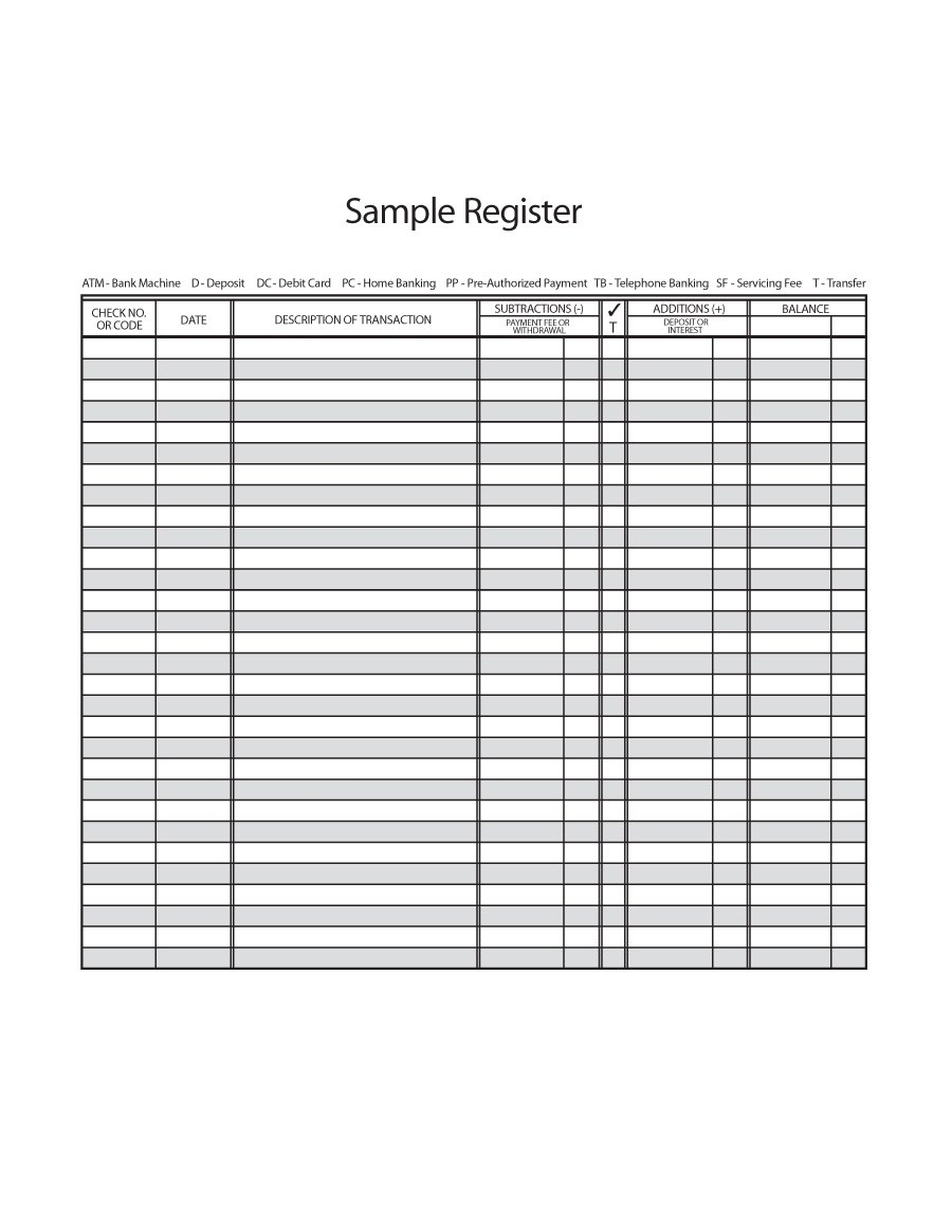 Print Blank Check Register - Wpa.wpart.co
